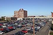 Parking Lot and the Old Ford Plant