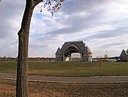 Lake Harriet Bandshell in Fall