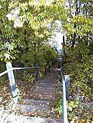 Hidden Stairs in the Fall
