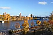 Nicollet Island in the Fall
