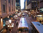 Nicollet Mall from Skyway