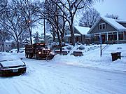 Snowplow on Beard Avenue