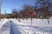 Linden Hills Park in Winter