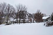 Washburn Avenue South in Winter
