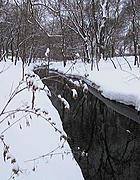 Minnehaha Creek by 48th Street in Winter
