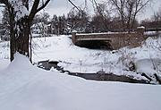 Humbolt Avenue Bridge in Winter