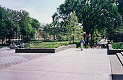 Northrop Mall from the Plaza