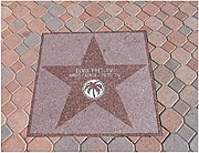 Elvis's Star in Palm Springs