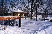 Linden Hills Depot (Winter)