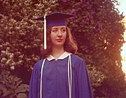High School Graduate, Linda Johnson (1960s)