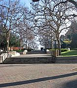 Stairs East of Bruin Plaza