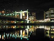 Hennepin Avenue Bridge at Night