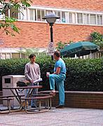 Courtyard at UCLA Medical Center