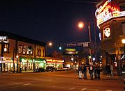 Hennepin Avenue at Lake Street (Night)