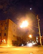 Northrup King Building at Night