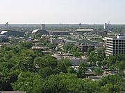 University Avenue from Overhead