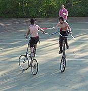 Bicycle Jousting
