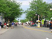 50th Street, Edina Art Fair
