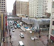 Nicollet Mall and 6th Street(overhead)
