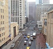 View of 6th Street and Marquette Avenue(Overhead)