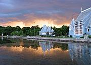 Lake Harriet Bandshell with Stormclouds