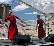 Ragamala Performers at FLW Bridge Opening