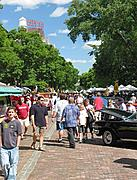 Old Main Street During Festival