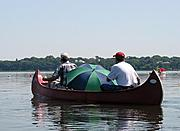 Canoe on Lake Calhoun