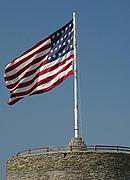 American Flag at Historic Fort Snelling