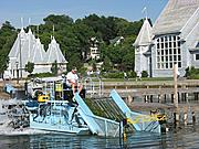 Milfoil Harvester on Lake Harriet