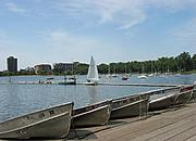 Rowboats at Lake Calhoun