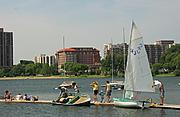 Boats and Dock at Lake Calhoun