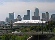 Metrodome and Skyline