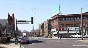 West Franklin Avenue and Hennepin Avenue South