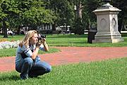 Photographer in Lafayette Park