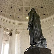 Inside the Thomas Jefferson Memorial