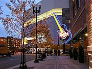 Target Center and Hard Rock Cafe