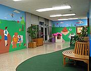 Lobby at Mattel Children's Hospital, UCLA