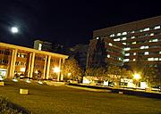 CHS Plaza at Night