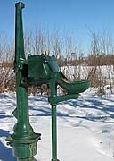 Drinking Fountain in Winter