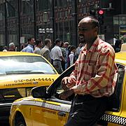 Taxi Driver on Nicollet Mall