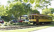 Streetcar Returning from Lake Calhoun