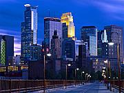 Minneapolis Skyline at Night