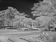 Park Fountain, Infrared