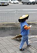 Street Sweeper in Shenzhen