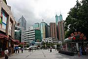 Pedestrian Mall in Shenzhen, China