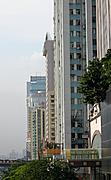 Towers on a Street in Shenzhen