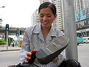 Shoe-Shine Woman