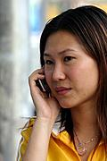 Chinse Woman on Cellphone