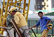 Construction Workers, Shenzhen, China